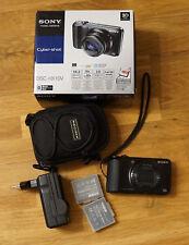 Digitalkamera Sony Cyber-shot DSC-HX10V schwarz inkl. Zubehörpaket