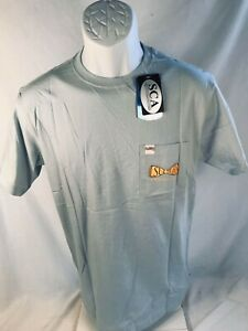LSU SCA Bowtie Design Gray Chambray Short Sleeve Tee  Size:  Small