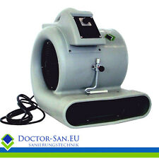 Doctor-San Radial-Turbolüfter Turbogebläse Bauventilator Radialgebläse 4171 m³/h