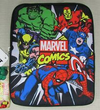 MARVEL COMICS SUPER HEROS Universal Tablet Cover Case Black NEW NWT