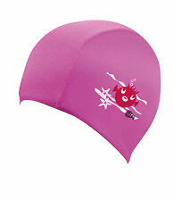 Beco Sealife Textil Badekappe 7703 Schwimmhaube Textile Cap for Kids (pink)