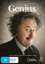 Genius : Season 1 (DVD, 2018, 4-Disc Set) BRAND NEW & SEALED DVD  Region 4