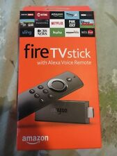 NEW, UNOPENED Amazon Fire TV Stick With Alexa Voice Remote 2nd Generation