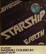 Jefferson Starship-Earth-'78 US Promo/NY Concert Poster