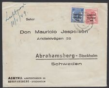 GERMANY, 1948. Soviet Zone Cover 189,192, Stockholm