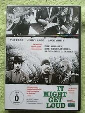 It Might Get Loud - Top Musik Film!! Jimmy Page,Jack White,The Edge - DVD - TOP!
