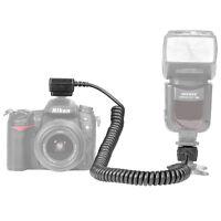 Neewer 9.8 feet/3 m TTL Off Camera Flash Speedlite Sync Shoe Cord for Nikon