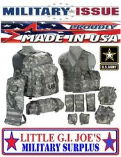 Rifleman Set Army Acu MOLLE II Assault Pack FLC Hydration System Vest Setup NEW
