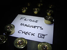 Shotgun Cartridge Fridge Magnets Clay,Shooting Gift 12g Steampunk Fathers day