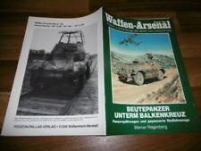 WAFFEN ARSENAL # 146 -- BEUTEPANZER unterm BALKENKREUZ / Panzerspähwagen+Radfahr