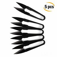 Bonsai Pruning Scissors Pruner Shears for Bud and Leaves Trimmer Sewing 5 PCS