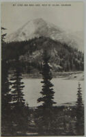 Mt. Etna and Boss Lake west of Salida, Colorado  1950's Conoco Touraide Postcard