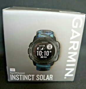 GARMIN Instinct Solar Surf, robuste Herrenarmbanduhr /Smart Watch, grau, Neu/OVP