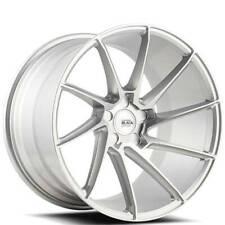 "4ea 19"" Savini Wheels BM15 Silver Brushed Silver Rims (S12)"