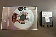 Canon PowerShot S300 Digital Point & Shoot w/ 3X Optical Zoom Silver w/ Battery