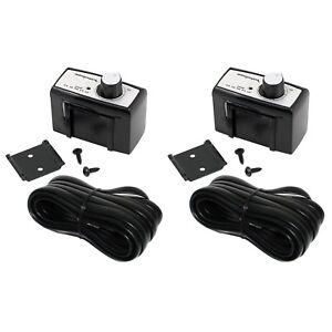 Rockford Fosgate PB1 Remote Bass Control Punch Amps Subs Audio Stereo (2 Pack)