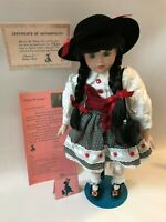Marian Yu poseable porcelain doll limited edition of 2500