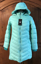 NWT Spyder Girls Boundless Long Puffer Coat L 12/14 MSRP$149