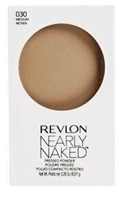 Revlon Nearly Naked Pressed Powder 030 MEDIUM