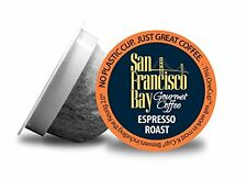 72 ct. Espresso Roast San Francisco Bay Coffee OneCup  For Keurig K-cup brewer