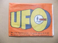 GERRY ANDERSON UFO MONTY GUM CARD WRAPPER ITC SHADO TV ED BISHOP ed straker