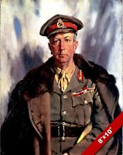 GENERAL SIR ARTHUR CURRIE PAINTING CANADA WWI MILITARY HISTORY ART CANVAS PRINT