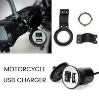Imperméable 12V moto guidon USB téléphone chargeur d'alimentation prise coura LB