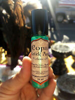 "Sahumerio Maya: Copal ""Aztek Aura"" Natural Organic Perfume Oil"