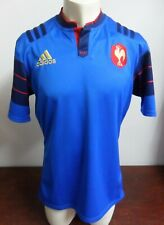 MAILLOT RUGBY EQUIPE DE FRANCE ADIDAS 2015 2016 T. L