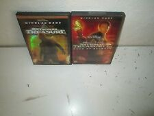 Disney's NATIONAL TREASURE 1 & 2 rare Family Adventure dvd Set NICOLAS CAGE