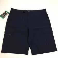 NEW BC Clothing Expedition Men's Stretch Cargo Short 38 Navy Blue