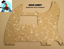 Aged Pearl Tele Humbucker Pickguard 3-ply fits USA & MIM for Telecaster Fender
