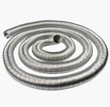 Aluminium Flexible Hose - Air Ducting Flexi Pipe Car Engine Tube Alloy Feed Hose