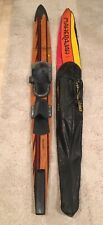 New listing Vintage Maherajah Slalom Water Ski 63� With Original Case