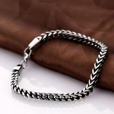 Fashion Men Women Jewelry Bracelet Wrist Chain 316L Stainless Steel