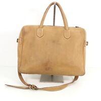 TIMBERLAND Herren Buisness Tasche braun Leder Leather Bag