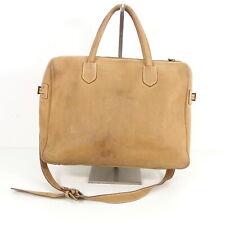 Details zu Damentasche aus Leder TIMBERLAND M5015 Braun 093 Made in Italy