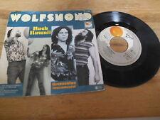 """7"""" Pop Wolfsmond - Nach Hawaii / Grenzenlos (2 Song) SPIEGELEI INTERCORD"""