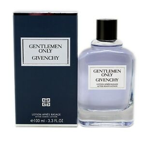 GIVENCHY GENTLEMEN ONLY AFTER SHAVE LOTION 100 ML/3.3 FL.OZ. NIB