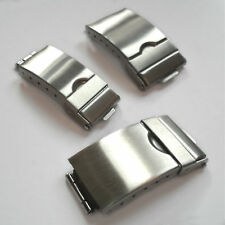 Watch Bracelet Catch Clasp Stainless Steel Replacement 3-Fold Tri-Fold Safety