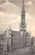 Br34964 Bruxelles Hotel de Ville Belgium
