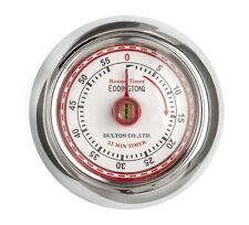 Eddingtons Magnétique Style Rétro Minuteur Cuisine - Argent 55min