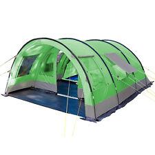 Skandika Helsinki Tente Camping Tunnel Familiale 6 pers. 525x410cm Vert NEUF