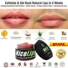 NicoLips Lip Lightening Gel scrub Removes Dark Lips & Nicotine Stains From Lips