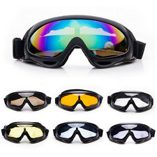 Occhiali da Moto Cross Motard MTB DH Downhill BMX MX Sci Snowboard Mascherina
