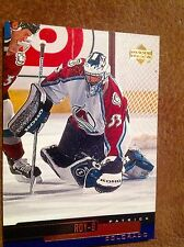 1999/00 Colorado Avalanche Patrick Roy NHL Hockey Upper Deck #210 Card Hall Fame