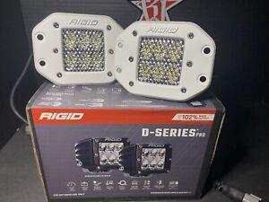 Rigid Industries D-Series Pro LED Flush Mount Light Pods-Driving; 712513 Marine