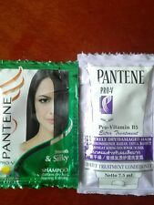 PANTENE PRO-V SHAMPOO x4& PRO-V B5 COND FOR DAMAGED/SEVERELY DRY HAIR x4 SACHETS