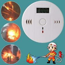 Le monoxyde de carbone CO capteur de gaz Alarme alerte Testeur détecteur LCD DC