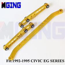 BWR Tie Bar For 1992-1995 Honda Civic EG Series+Racing Rear Lower Control Arm